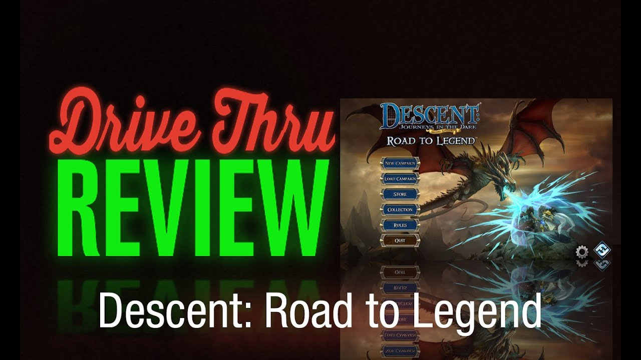 descent road to legend review youtube. Black Bedroom Furniture Sets. Home Design Ideas