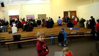 Воскресное собрание в церкви 01.03.2010.AVI