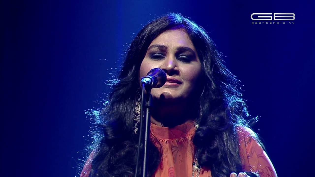 KOBITA MEDLEY - SAMINA CHOWDHURY : WIND OF CHANGE [ PRE-SEASON ] at GAAN BANGLA TV