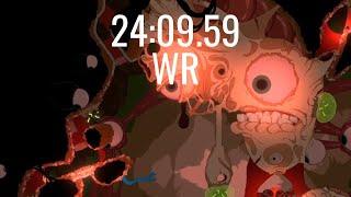 WR: 24:09.59 | Struggling Cave% Speedrun