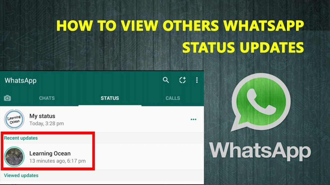 How To View Others Whatsapp Status Updates In Hindi Whatsapp New Features