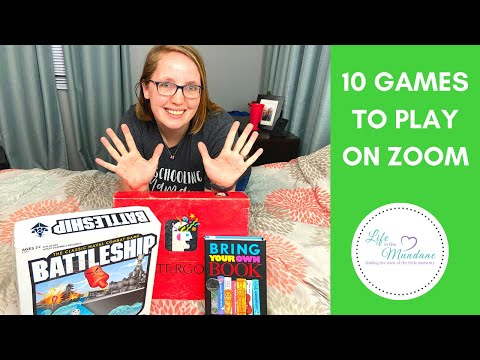 10 GAMES TO PLAY ON ZOOM/VIDEO CHAT
