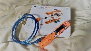 Stylo 3D : Déballage, assemblage et test du 3Dsimo Kit.