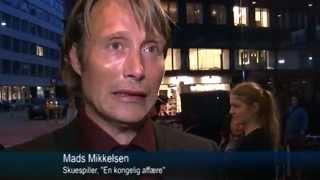 Mads Mikkelsen- A Royal Affair Premiere in Denmark