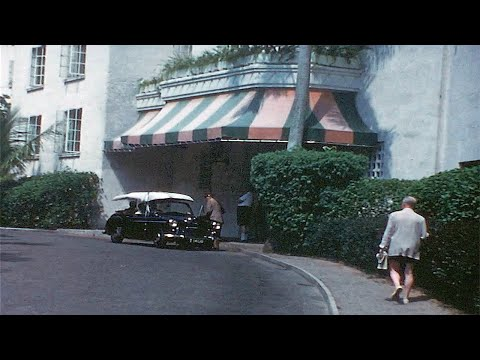 Bermuda Vacation 1950's ~ Castle Harbour Hotel Stay, Surrey Top Taxis & St. Marks Church