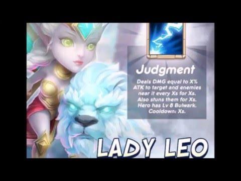 New Hero Lady Leo New INSANE Dungeons LAVA 3 Update Castle Clash