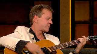 Kiefer Sutherland performs 'Knocking on Heaven's Door' | The Late Late Show | RTÉ One