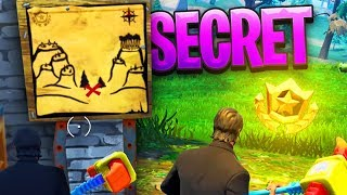"NEW ""SECRET TREASURE"" in SNOBBY SHORES! - Fortnite Battle Royale"