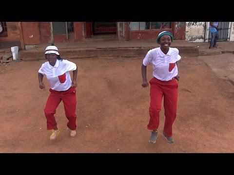 Two women break down stereotypes in Pantsula dancing.