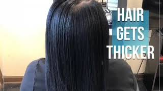 Get LONGER STRONGER THICKER HAIR  USE MIRACLE GROWTH WATER™️