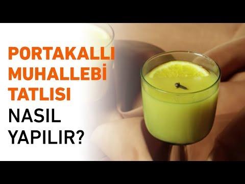 Portakallı Muhallebi Tatlısı Nasıl Yapılır? | Portakallı Muhallebi Tarifi