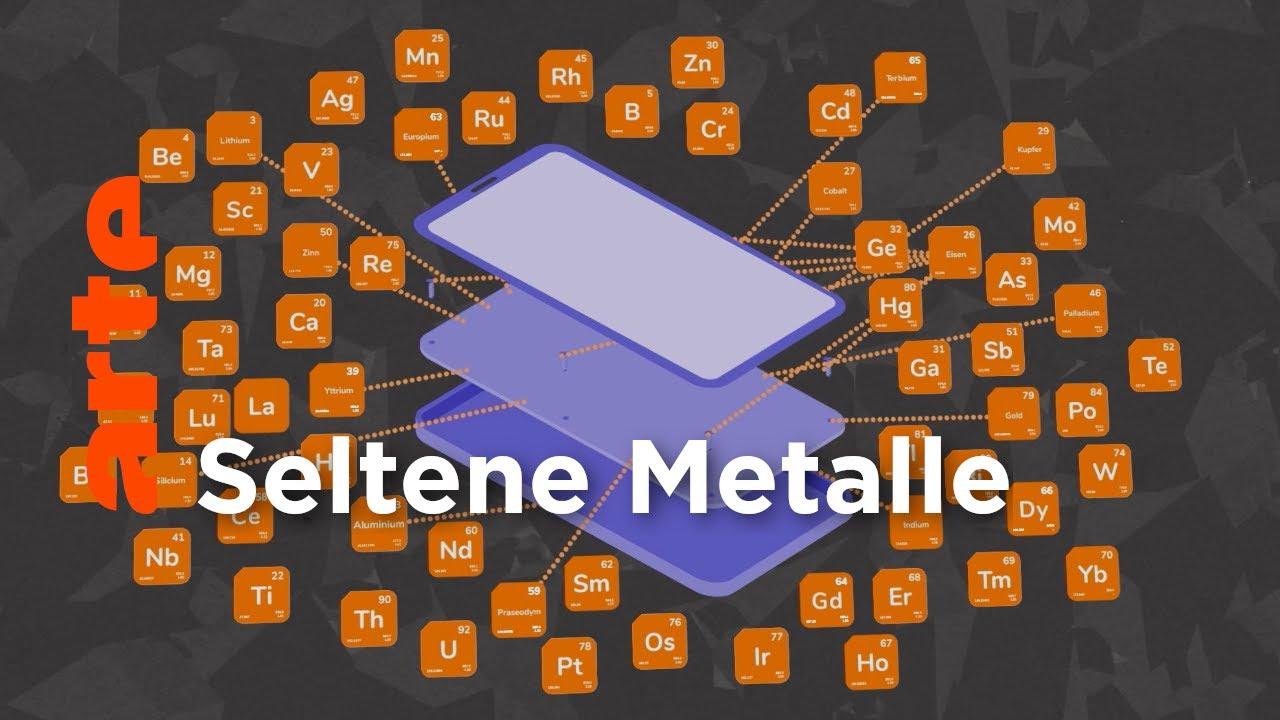 Die Seltenheit von Seltenen Metallen verstehen | Data Science | ARTE
