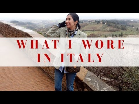 [VIDEO] - What I Wore In Italy | A Few Of My Outfits From Rome & Tuscany 3