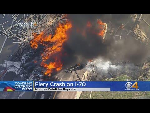 Multiple Fatalities In Fiery Crash On I-70