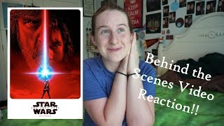 The Last Jedi Behind the Scenes REACTION and REVIEW! //seh221