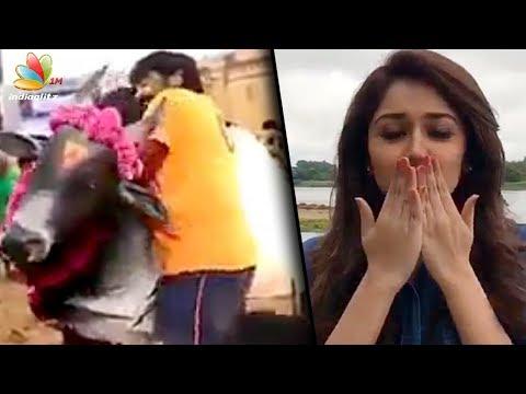 Making Of Jallikattu Scene In Karuppan Movie | Vijay Sethupathi's Junga Latest News