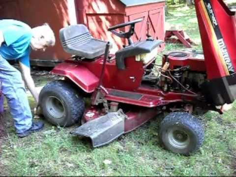 Murray Riding Lawn Mower Ignition Switch Wiring Diagram Redline Brake Controller My Wonderful 12hp Tractor Part 2 Youtube
