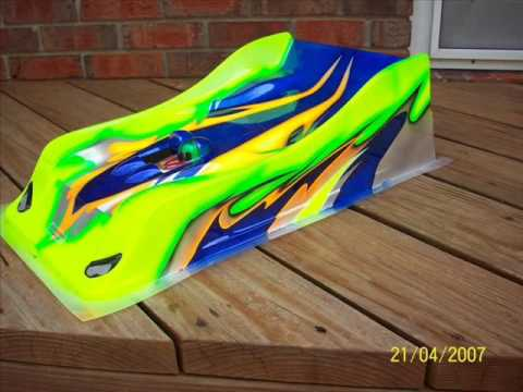 Custom Painted Rc Car Bodies Youtube