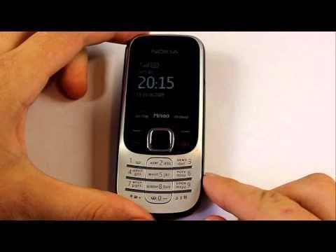 Nokia 2330. Погружение в воду на одну секунду