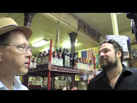 Bryan Hymel, opera star sings at Central Grocery, New Orleans
