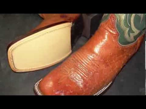 Boot And Saddle Repairs Ostrich Boots