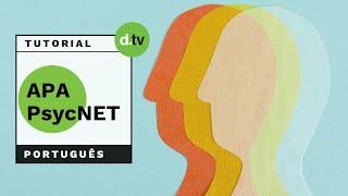 DOTLIB - APA PsycNet (Português) - Tutorial
