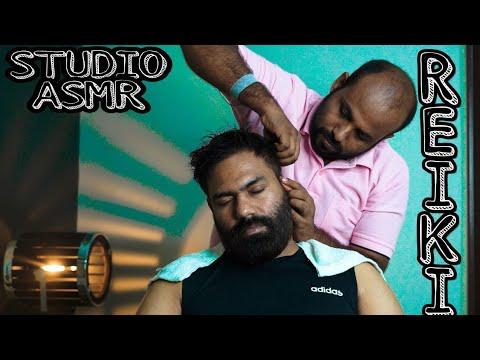 ASMR Head Massage | Crackings | Reiki Master | INDIANBARBER | STUDIO ASMR RELAXATION