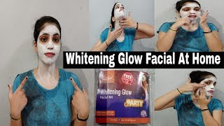 How To Do Facial At Home|फेशियल करने का सही तरीका|BeeOne Whitening Facial Kit Review|NeshaFashion