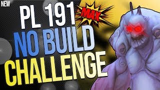 FORTNITE | PL 191 *MAX* NO BUILD CHALLENGE | Is This Even Possible?