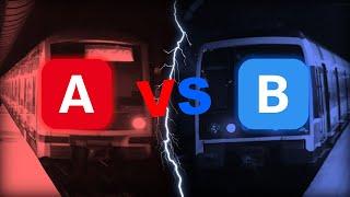 RER A vs. RER B