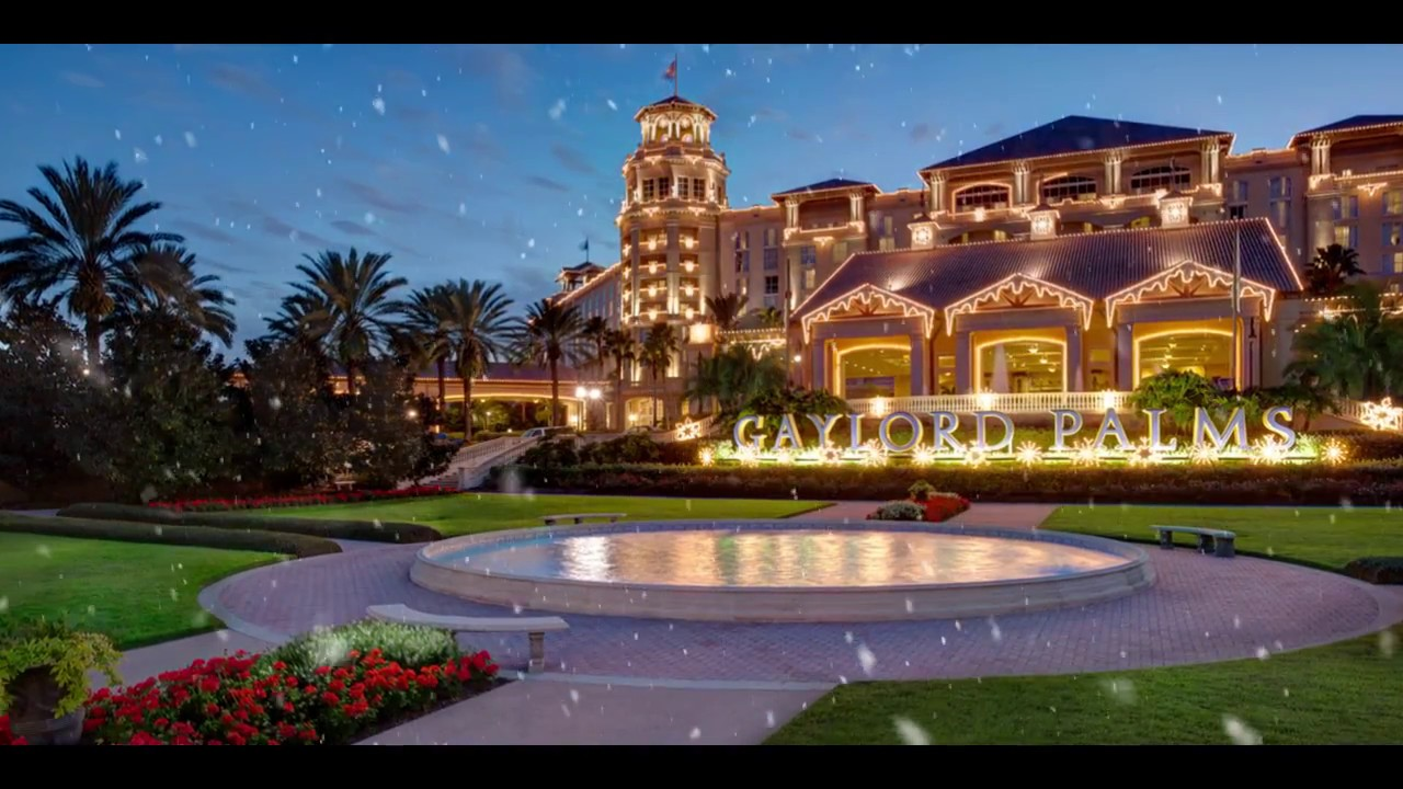 Christmas at Gaylord Palms (2016) - YouTube