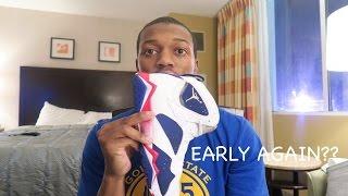 First Look Jordan 7 Olympic Alternate....Heat?