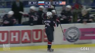 Oliver Wahlstrom 1G 1A vs Russia | Feb 9 2017 | U17 5 Nations