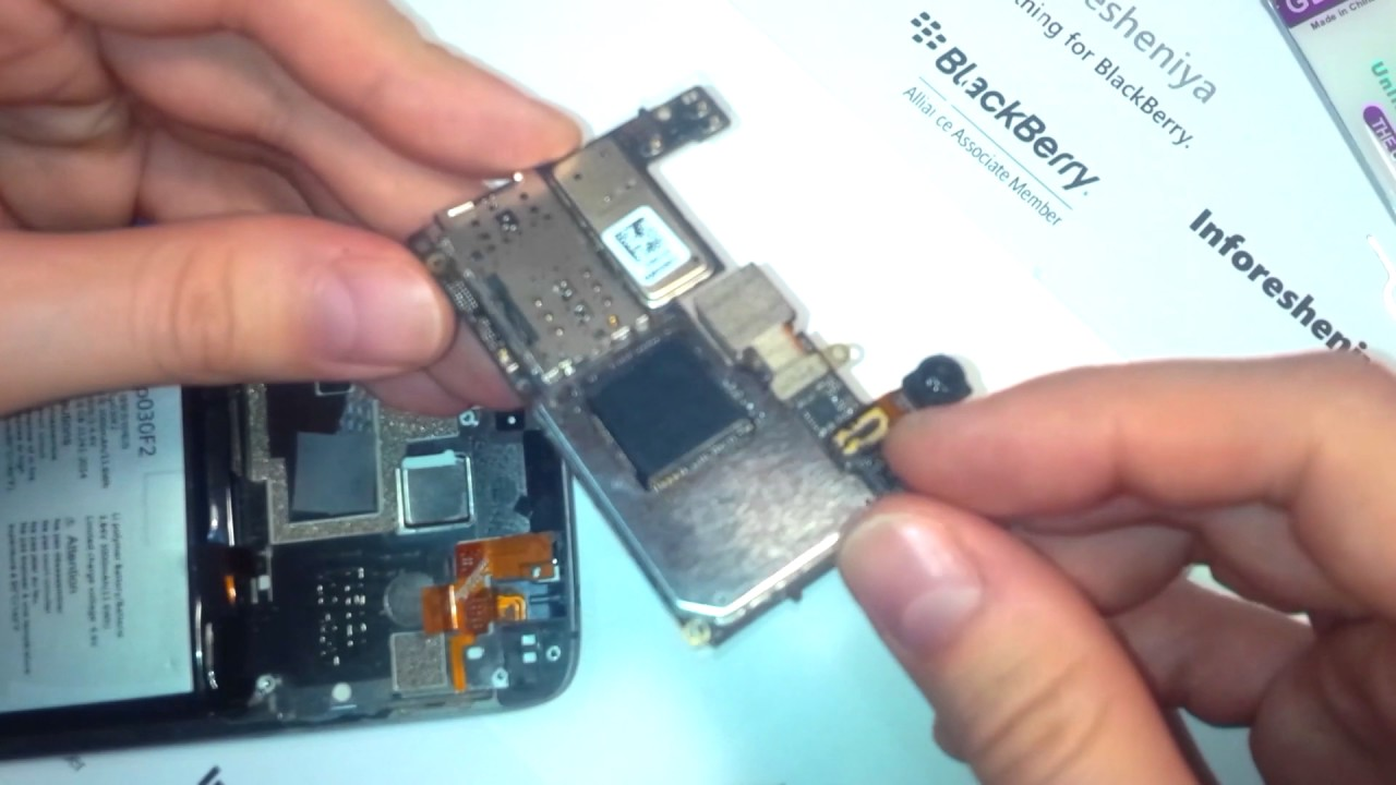 Blackberry DTEK60 Disassembly Videos - Waoweo