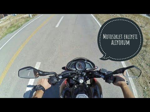 Motosiklet Ehliyeti Alıyorum! - VLOG (bisikletli)
