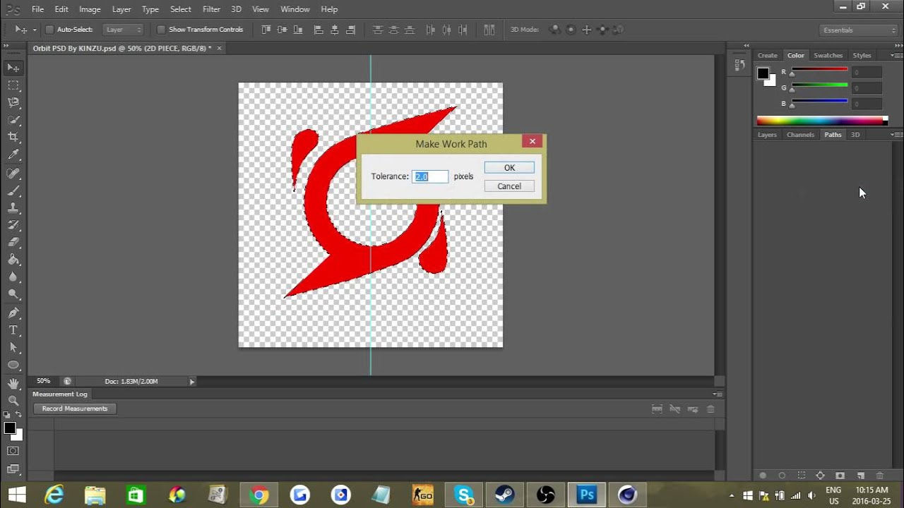 how to convert psd or png files to ai files photoshop tutorial