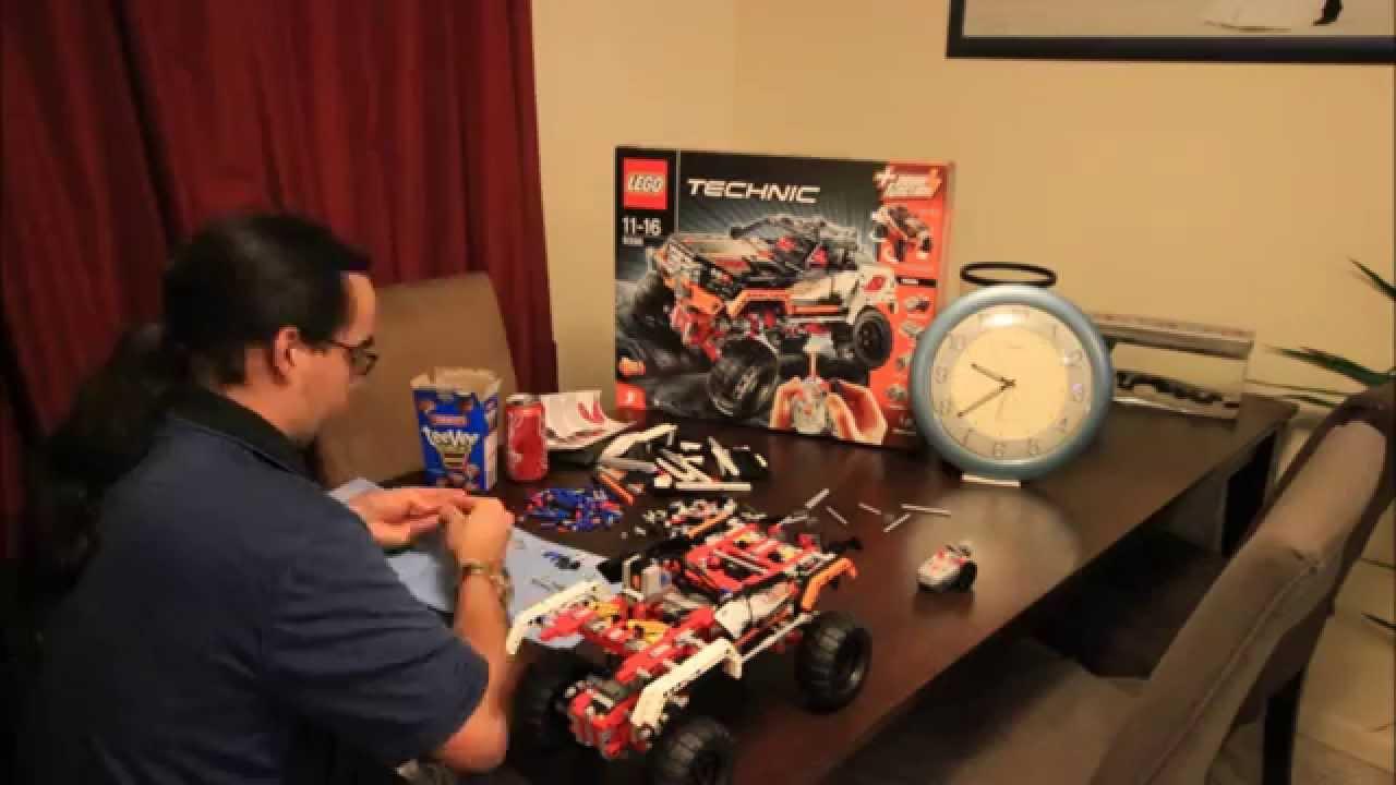 Lego 4x4 Crawler 9398 Timelapse 1080p By Sueme82