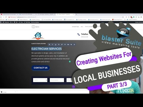 Creating Websites for local businesses - Part 3 /3