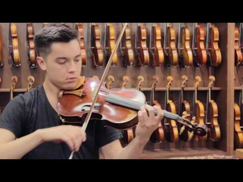 "Robert W. McCluskie, Potomac 2015 #404, 16"" Viola Demonstration"