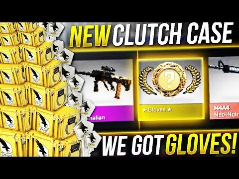 *New* CS:GO CLUTCH CASE - GLOVES UNBOXING!!!