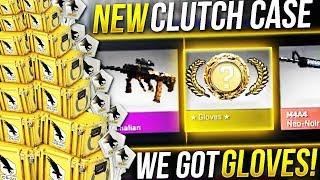 *New* CS:GO CLUTCH CASE - GLOVES UNBOXING!!!