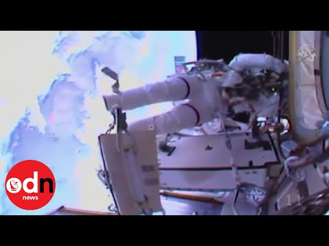 History Made as Astronauts Perform First All-Female Spacewalk!