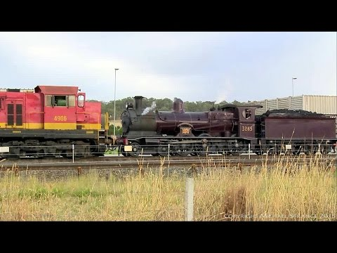 The LVR Heritage Train At Ettamogah Rail Hub - PoathTV Australian Trains & Railways