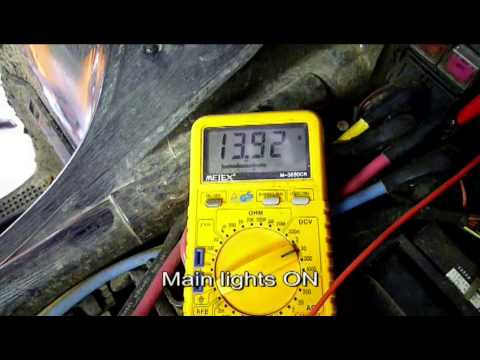 Injector Wiring Harness Diagram Suzuki Kingquad Problem Battery Charging Youtube