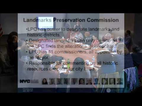 NYC Landmarks Preservation 101 - Community Board Training