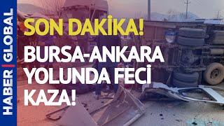 Son Dakika! Bursa'da Zincirleme Kaza, Çok Sayıda Yaralı Var!