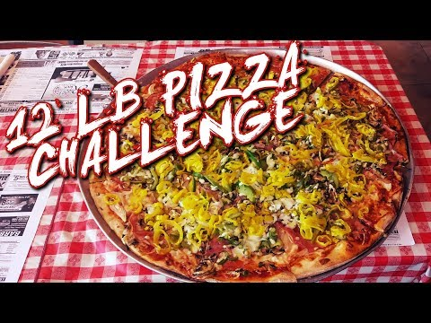 HAM & VEGGIE PIZZA CHALLENGE in Sarasota, Florida!!