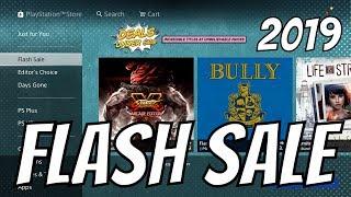 """PS4 FLASH SALE 2019 """"Deals Under $20"""""""