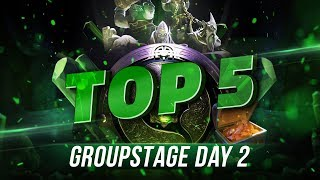 TOP5 Highlights TI8 Group stage - Day 2