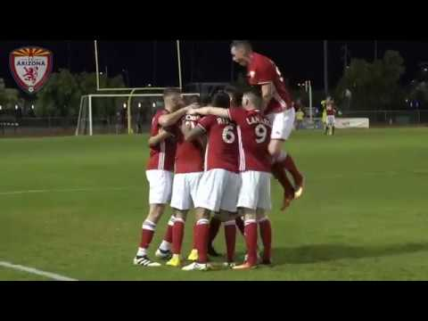 Highlights: Goals From FC Arizona's 5-0 Victory Over Real San Jose